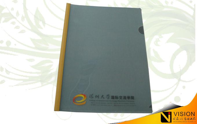 纸制合同夹版面设计分享展示